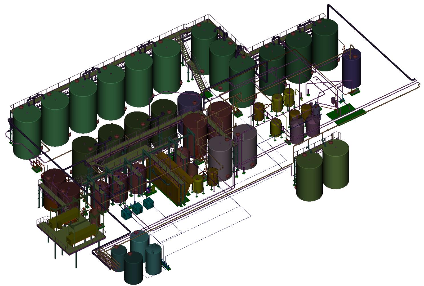 3d system diagram