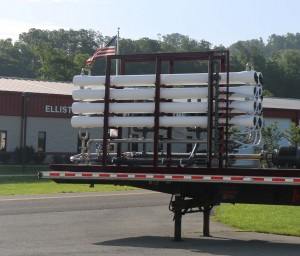 IHPRO for water reuse loaded on flatbed