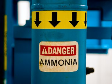 Ammonia in wastewater treatment